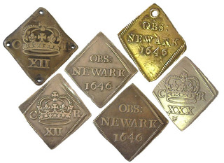 Newark siege pieces